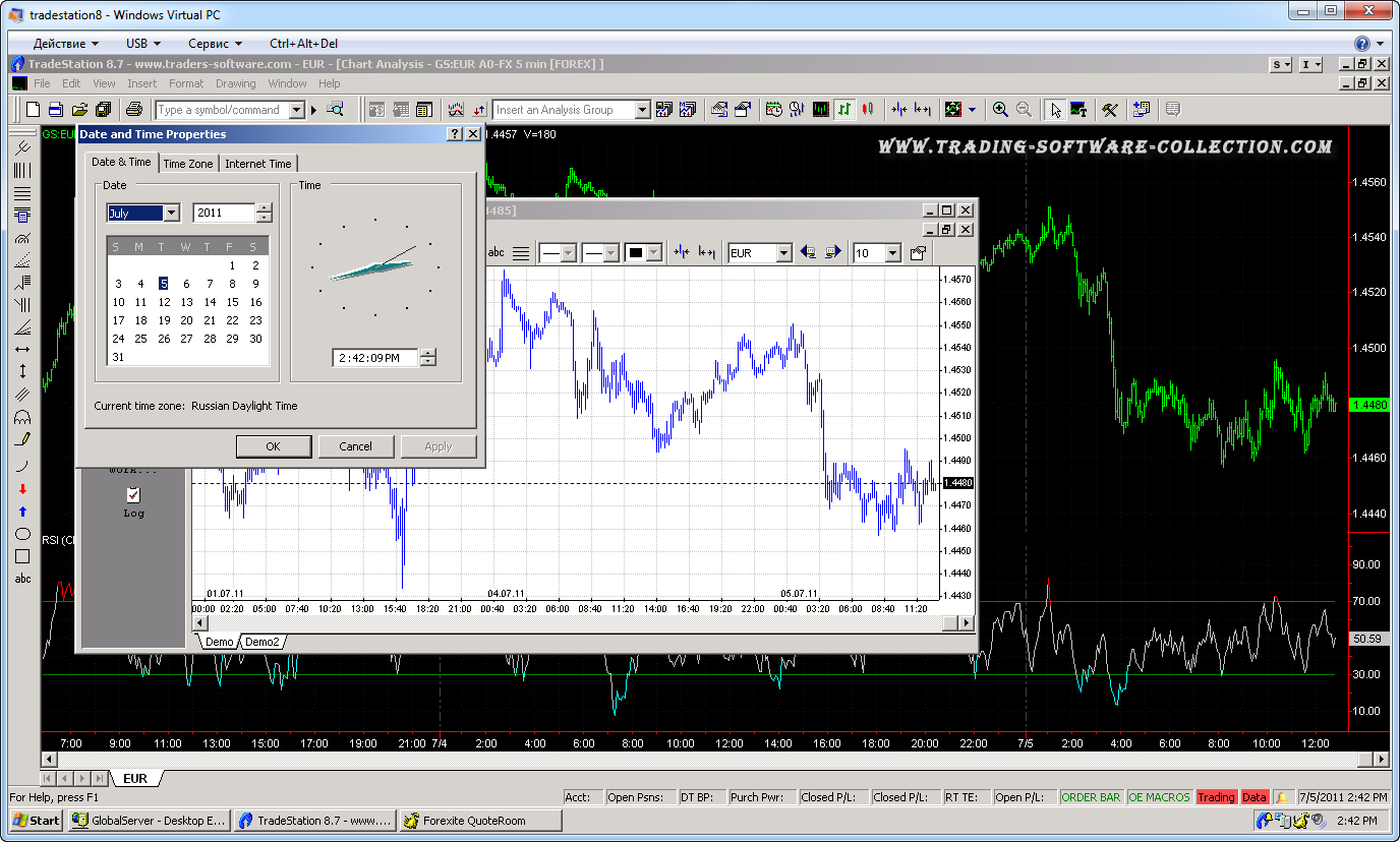 Free real time forex data feed